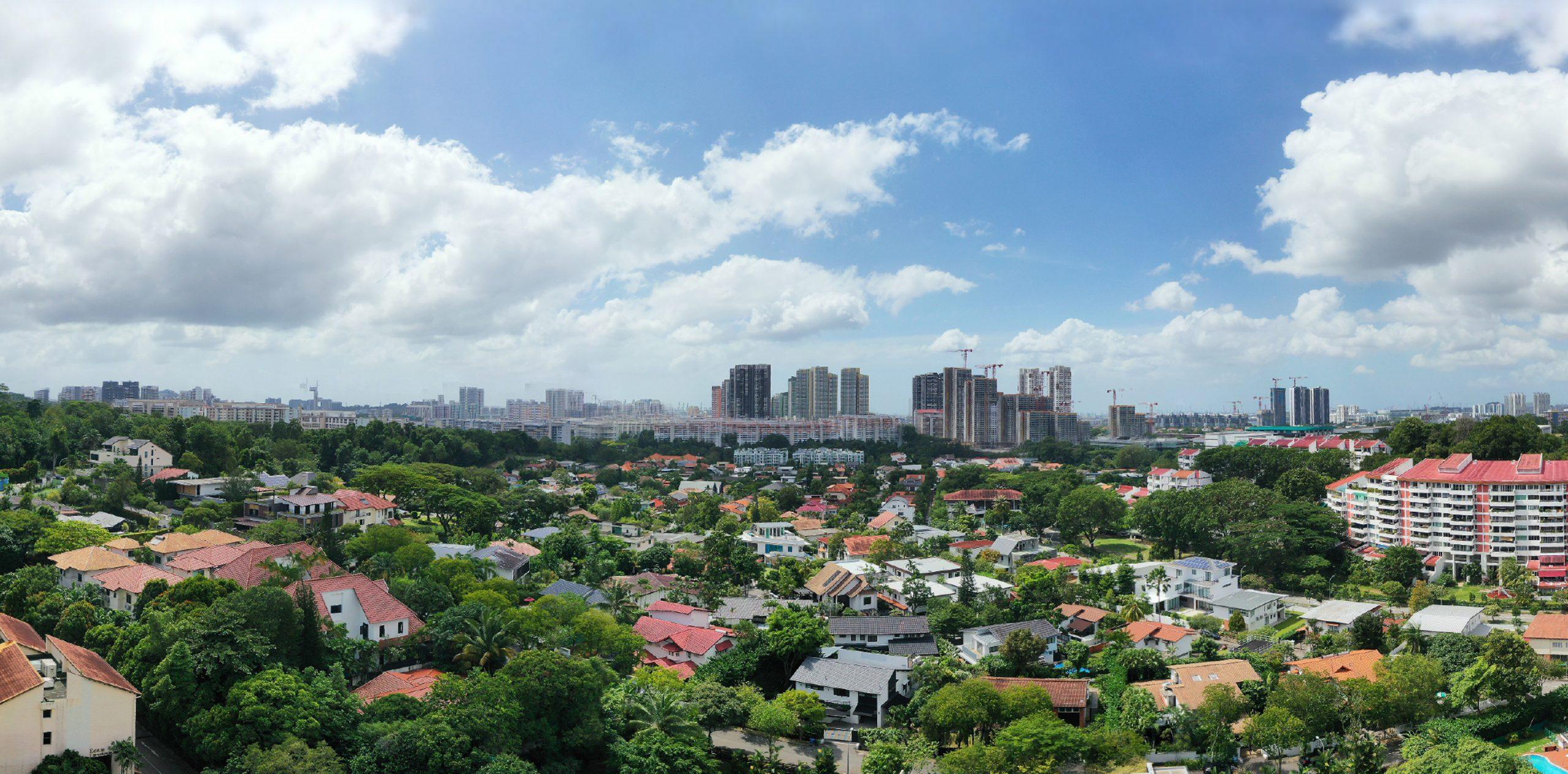 KI Residences – Drone View on the South – Ki Residences