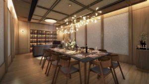Ki Residences Dining Room
