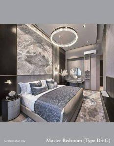 Ki Residences Masterbed Room